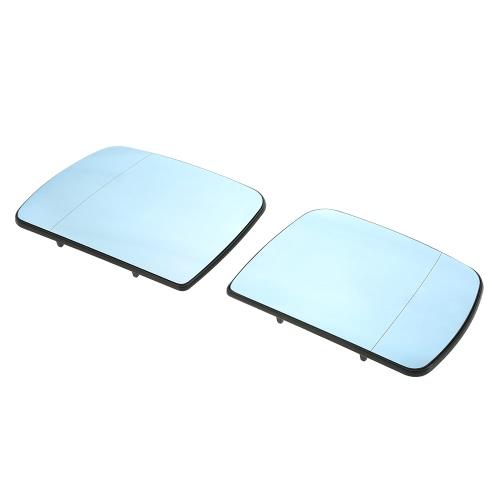زوج من الزجاج مرآة الجانبية ساخنة 51167039598 لسيارات بمو X5 E53 2000-2006