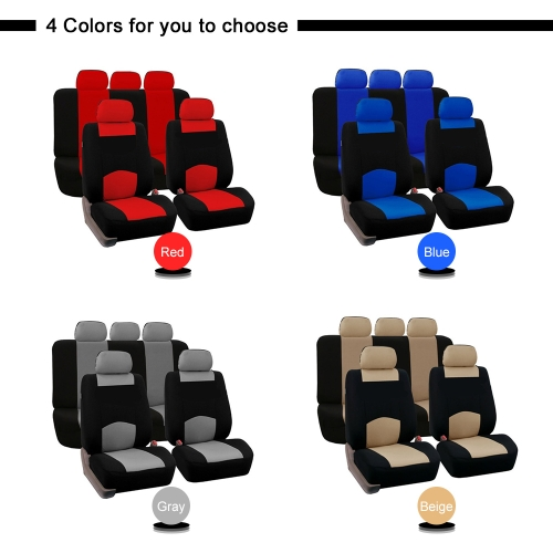 Universal Car Seat Cover Protector Car Interior Accessories Fabric and 2mm SpongeCar Accessories<br>Universal Car Seat Cover Protector Car Interior Accessories Fabric and 2mm Sponge<br>