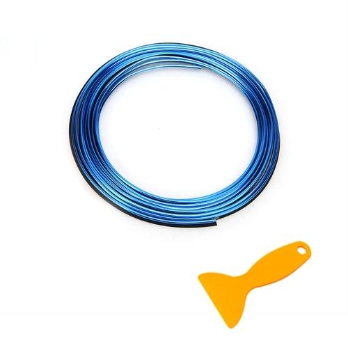 Linha Decorativa de Tiras de Moldagem Flexível de 2M