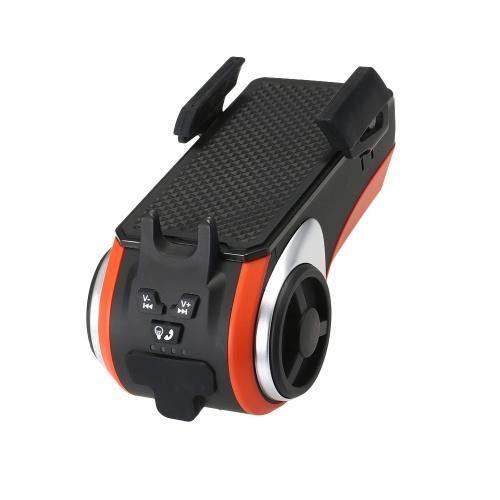 Multifunction Orange Bike Speaker Audio