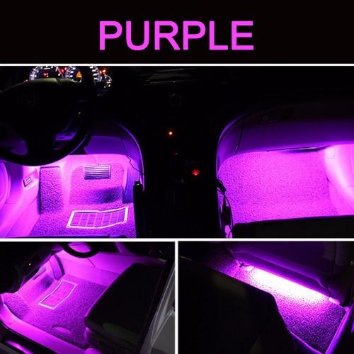 2 in 1 LED Interior Atmosphere Light Bar Car Auto Romantic Decoration Lamp Kit 12VCar Accessories<br>2 in 1 LED Interior Atmosphere Light Bar Car Auto Romantic Decoration Lamp Kit 12V<br>