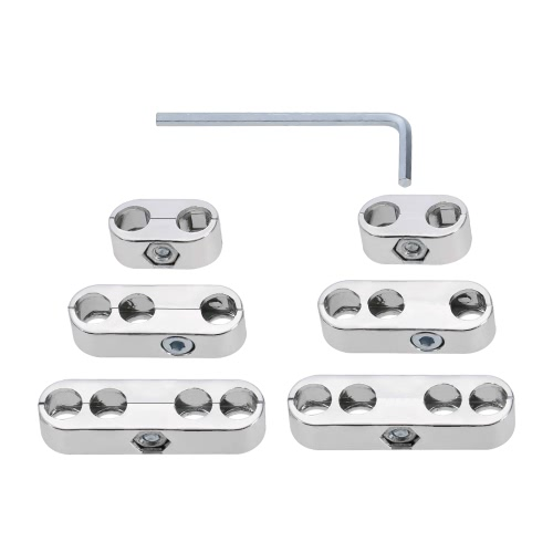 7mm 8mm Spark Plug Wire Separators Dividers Looms for Chevy for Ford &amp; MoparCar Accessories<br>7mm 8mm Spark Plug Wire Separators Dividers Looms for Chevy for Ford &amp; Mopar<br>