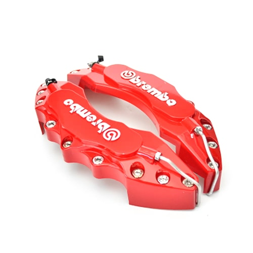 4PCS High Quality ABS Plastic Truck 3D Red Useful Car Universal Disc Brake Caliper Covers Front Rear Auto Universal Kit DecorationCar Accessories<br>4PCS High Quality ABS Plastic Truck 3D Red Useful Car Universal Disc Brake Caliper Covers Front Rear Auto Universal Kit Decoration<br>