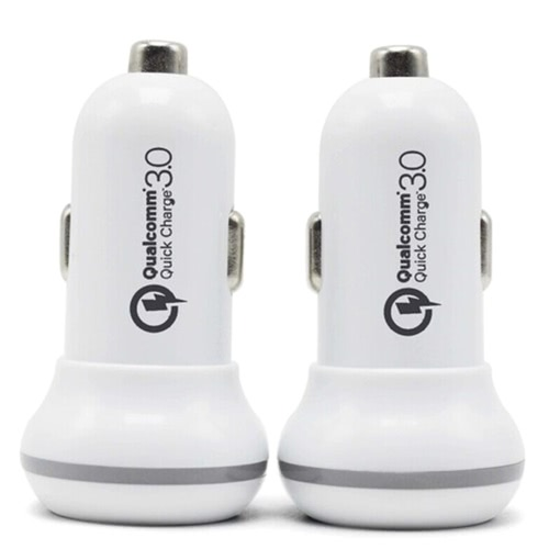 Mini QC 3.0 Dual USB Car Charge Universal High Speed Charging Vehicle Car ChargerCar Accessories<br>Mini QC 3.0 Dual USB Car Charge Universal High Speed Charging Vehicle Car Charger<br>