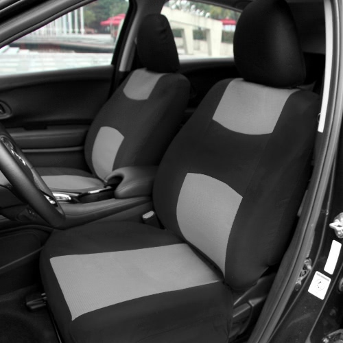Universal Car Seat Cover Set 10Pcs Seat Covers Front Seat Back Seat Headrest Cover Mesh Black and Gray/RedCar Accessories<br>Universal Car Seat Cover Set 10Pcs Seat Covers Front Seat Back Seat Headrest Cover Mesh Black and Gray/Red<br>