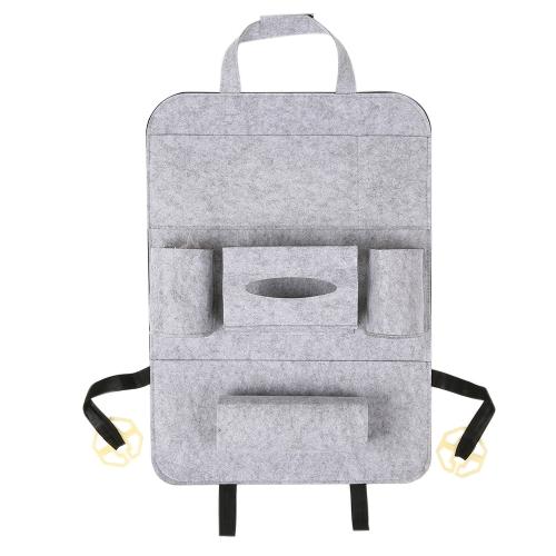 Car Back Seat Organizer Multi-Pocket Bag Fabric Storage BinsCar Accessories<br>Car Back Seat Organizer Multi-Pocket Bag Fabric Storage Bins<br>