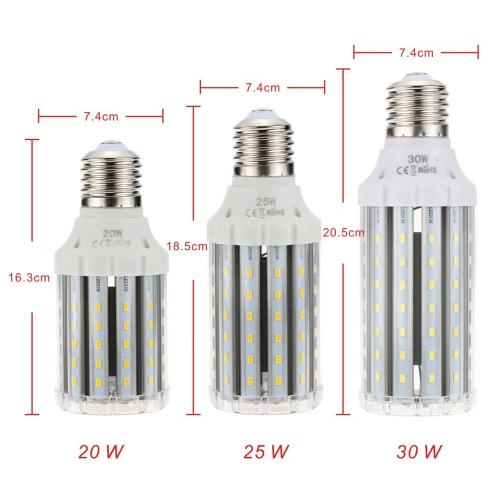 85-265V E40 Screw Base SMD 5730 LED Corn Light Bulb for Drop Pendant Wall Decoration LampHome &amp; Garden<br>85-265V E40 Screw Base SMD 5730 LED Corn Light Bulb for Drop Pendant Wall Decoration Lamp<br>