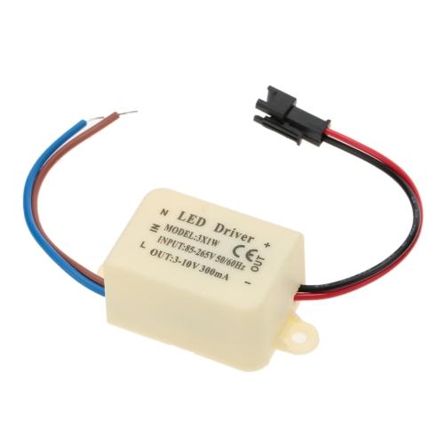 AC85-265V DC3-12V 300mA LED Driver Power Supply Adapter Transformer Switch for Spotlight Ceiling Down LampHome &amp; Garden<br>AC85-265V DC3-12V 300mA LED Driver Power Supply Adapter Transformer Switch for Spotlight Ceiling Down Lamp<br>