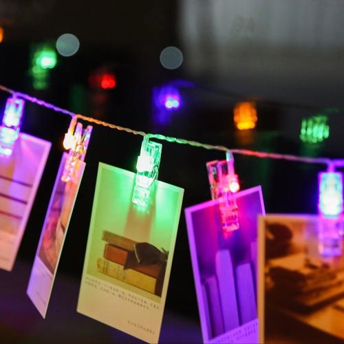 Mini DIY LED Clips Photo String LightHome &amp; Garden<br>Mini DIY LED Clips Photo String Light<br>