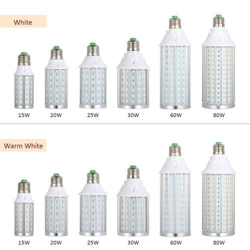 15W 20W 25W 30W 60W 80W Funny E27 Base LED Corn Light Bulb Spotlight