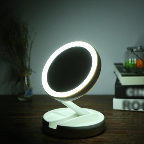DC5V 5W 21 LEDs قابلة للطي يشكلون ضوء المرآة مع كابل USB