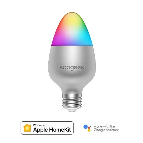 Koogeek E27 8W Ampoule LED Smart Wi-Fi à gradation de couleur variable
