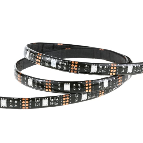 0.5M 3.5W 15 LED USB Flexible RGB LED Strip Light SMD5050 RF Remote Control Lamp with Adhesive Tape 22 Dynamic Modes 20 Static ColHome &amp; Garden<br>0.5M 3.5W 15 LED USB Flexible RGB LED Strip Light SMD5050 RF Remote Control Lamp with Adhesive Tape 22 Dynamic Modes 20 Static Col<br>