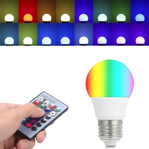 AC85-265V 3W RGB LED Light Bulb