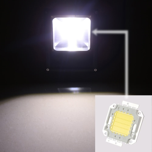 30W High Power LED Integrated Lamp Bead Taiwan Imported Chip 860-900mA 32-34V 2800-2900LM for Floodlight Street Mining LightHome &amp; Garden<br>30W High Power LED Integrated Lamp Bead Taiwan Imported Chip 860-900mA 32-34V 2800-2900LM for Floodlight Street Mining Light<br>