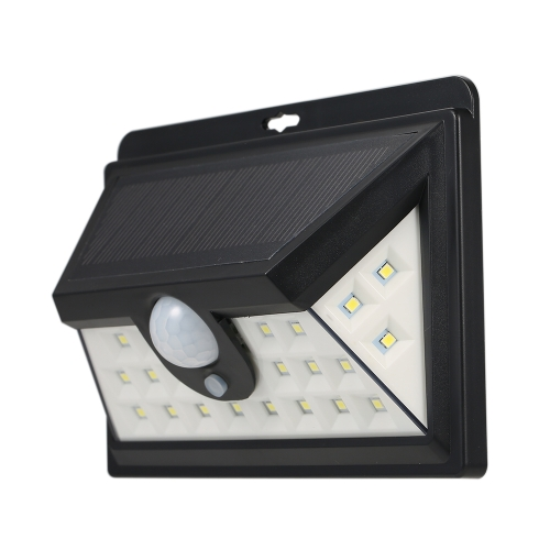 24LEDs IP65 Waterproof Motion Sensor Solar Power Wall LightHome &amp; Garden<br>24LEDs IP65 Waterproof Motion Sensor Solar Power Wall Light<br>