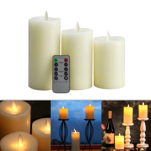 Flameless Electric LED Candle Light with Remote ControlHome &amp; Garden<br>Flameless Electric LED Candle Light with Remote Control<br>