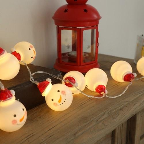 DC12V 2W 3 Meters 20 LEDs Snowman Design Fairy String Light