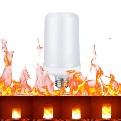 Tomshine E27 LED Fire Effect Light BulbHome &amp; Garden<br>Tomshine E27 LED Fire Effect Light Bulb<br>