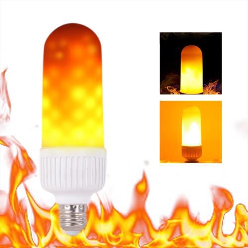 Tomshine E27 SMD2835 LED Fire Effect Light BulbHome &amp; Garden<br>Tomshine E27 SMD2835 LED Fire Effect Light Bulb<br>