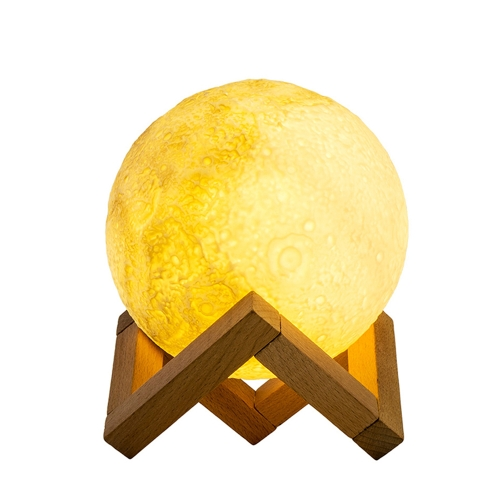 LED SMD2835 USB Rechargeable Dimmable Moon Shadow Night LightHome &amp; Garden<br>LED SMD2835 USB Rechargeable Dimmable Moon Shadow Night Light<br>