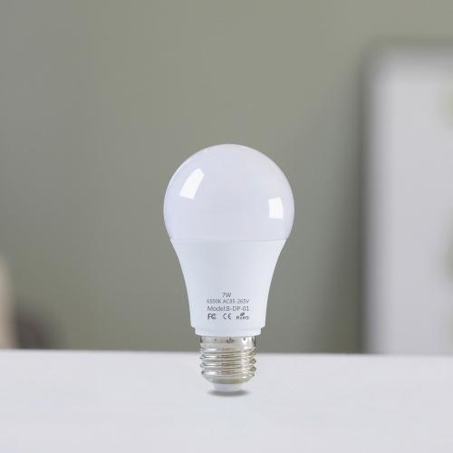 2PCS E27 7W LED لمبة الضوء مع استشعار الحركة