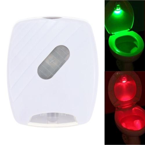 LED Human Motion Activated PIR Sensor Toilet Night LampHome &amp; Garden<br>LED Human Motion Activated PIR Sensor Toilet Night Lamp<br>