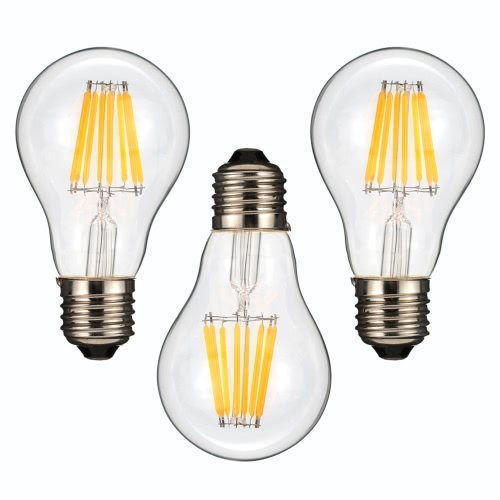 8W A60 LED Filament Bulb Light AC220-240V E27 Base Vintage Retro Holiday Festival Decorations Warm WhiteHome &amp; Garden<br>8W A60 LED Filament Bulb Light AC220-240V E27 Base Vintage Retro Holiday Festival Decorations Warm White<br>