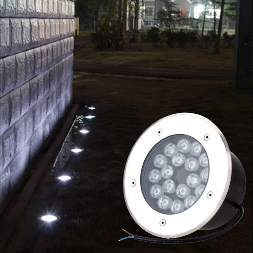 12V-24V 18W LED Outdoor Ground Garden Path Floor Stair Underground Buried Yard Lamp Spot Landscape Light IP67 WaterproofHome &amp; Garden<br>12V-24V 18W LED Outdoor Ground Garden Path Floor Stair Underground Buried Yard Lamp Spot Landscape Light IP67 Waterproof<br>