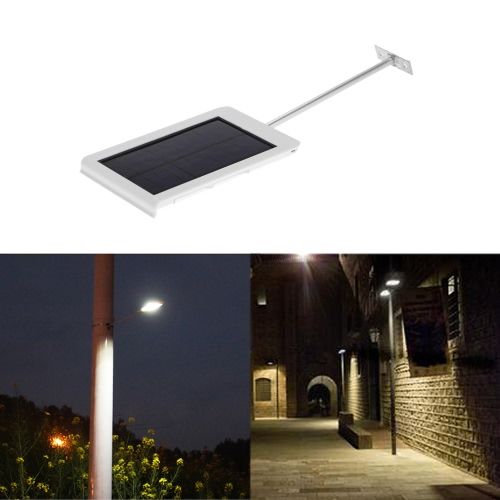 15 LEDs Solar Powered Ultra-thin Water-resistant Wall Street LightHome &amp; Garden<br>15 LEDs Solar Powered Ultra-thin Water-resistant Wall Street Light<br>