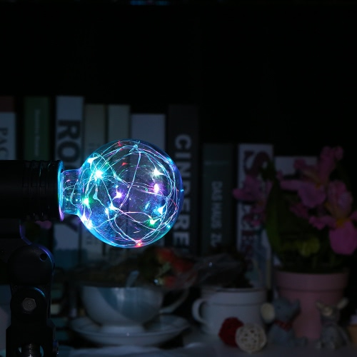220-240V E27 Copper Wire String Light Fairy LED Bulb Filament Lamp Creative Decorative for Christmas Party Wedding Coffee Store BaHome &amp; Garden<br>220-240V E27 Copper Wire String Light Fairy LED Bulb Filament Lamp Creative Decorative for Christmas Party Wedding Coffee Store Ba<br>
