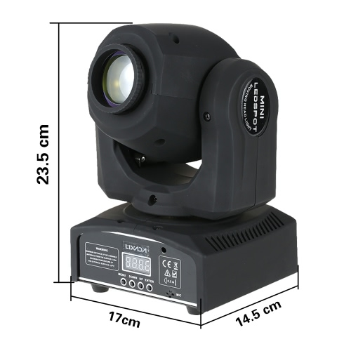 Lixada 50W RGBW Gobo LED Moving Head Stage Effect LightHome &amp; Garden<br>Lixada 50W RGBW Gobo LED Moving Head Stage Effect Light<br>