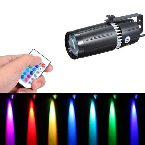 Mini spot à LED RVB AC90-240V 9W