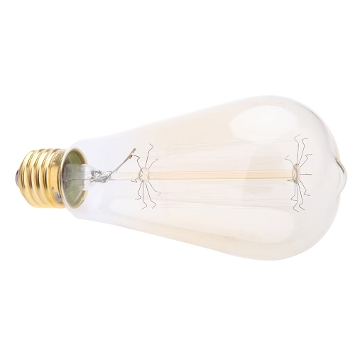 40W E27 Decorative Vintage Filament Edison Light Antique Bulb Art Lamp 220VHome &amp; Garden<br>40W E27 Decorative Vintage Filament Edison Light Antique Bulb Art Lamp 220V<br>