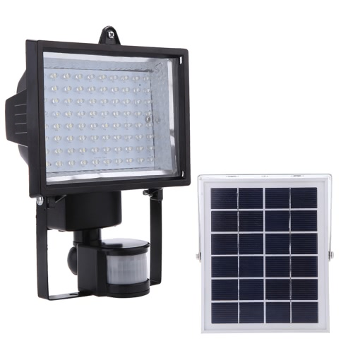 Ultra Bright 80 LED Solar Powered PIR Body Human Motion &amp; Light Sensor Lamp Panel Outdoor Security Spotlight for Lawn Garden PoolHome &amp; Garden<br>Ultra Bright 80 LED Solar Powered PIR Body Human Motion &amp; Light Sensor Lamp Panel Outdoor Security Spotlight for Lawn Garden Pool<br>