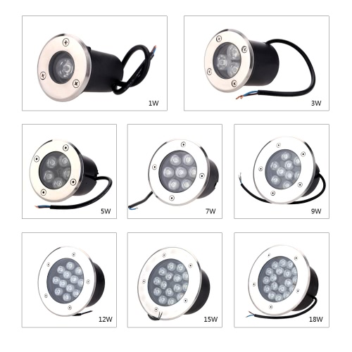 7W LED Outdoor Ground Garden Path Floor Underground Buried Yard Lamp Spot Landscape Light IP67 Waterproof AC 85-265VHome &amp; Garden<br>7W LED Outdoor Ground Garden Path Floor Underground Buried Yard Lamp Spot Landscape Light IP67 Waterproof AC 85-265V<br>