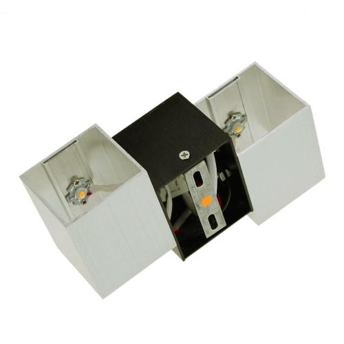 2W 85-265V AC Modern Fashion Square Shaped Aluminum LED Wall LightHome &amp; Garden<br>2W 85-265V AC Modern Fashion Square Shaped Aluminum LED Wall Light<br>