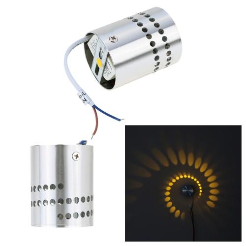 Modern Minimalist Aluminum Spiral Lighting LED Wall LightHome &amp; Garden<br>Modern Minimalist Aluminum Spiral Lighting LED Wall Light<br>