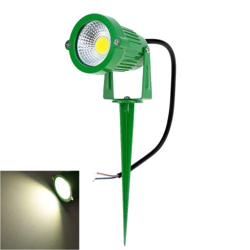 8W 12V AC DC IP65 alluminio verde prato inglese del LED Spot Light lampada ad alta potenza RGB caldo/natura giardino laghetto all'aperto bianco percorso CE RoHs