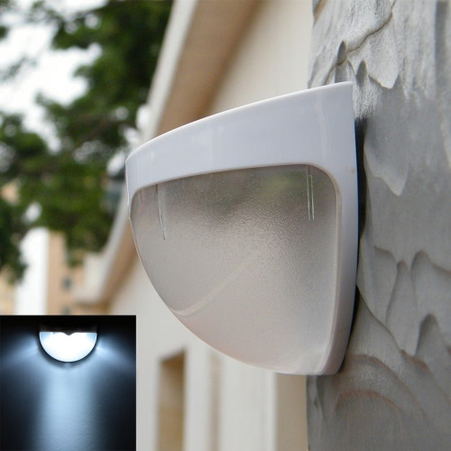 Lixada Solar Power Wireless LED Wall LampHome &amp; Garden<br>Lixada Solar Power Wireless LED Wall Lamp<br>