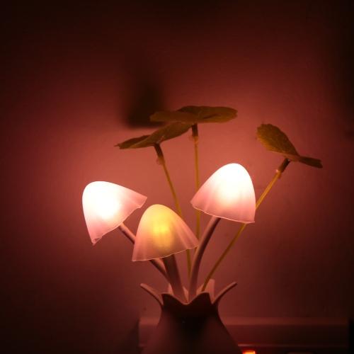 220V AC Dreamy LED Night Light Mushroom Potting Lamp Light Sensor Romantic Colorful Home Party Decor CE RoHsHome &amp; Garden<br>220V AC Dreamy LED Night Light Mushroom Potting Lamp Light Sensor Romantic Colorful Home Party Decor CE RoHs<br>