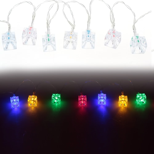 2.1M 20 LED Multi Color Ice Block Lamp Fairy String Light for Party Wedding Christmas Home Room Outdoor DecorationHome &amp; Garden<br>2.1M 20 LED Multi Color Ice Block Lamp Fairy String Light for Party Wedding Christmas Home Room Outdoor Decoration<br>