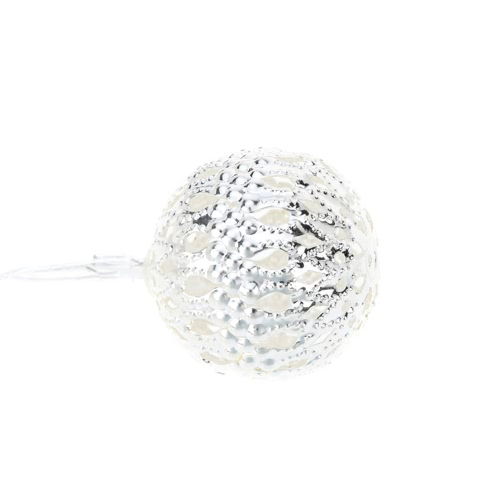 Outdoor Garden Solar Powered 4M 12 LED Warm White Garland Hollow Ball Globe Light Control String Lamp Fairy Lights for Party WeddiHome &amp; Garden<br>Outdoor Garden Solar Powered 4M 12 LED Warm White Garland Hollow Ball Globe Light Control String Lamp Fairy Lights for Party Weddi<br>