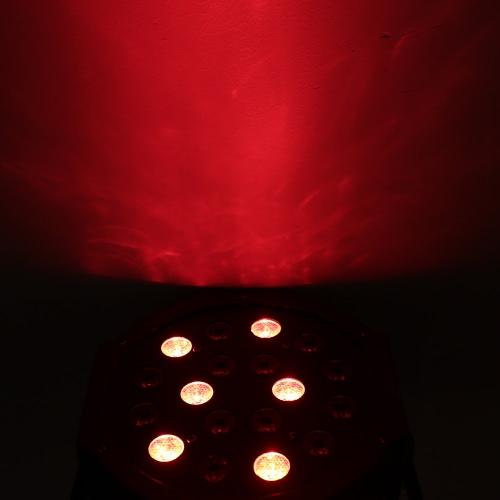 Lixada Mini 25W DC12V DMX-512 18 LED RGB Stage Par LightHome &amp; Garden<br>Lixada Mini 25W DC12V DMX-512 18 LED RGB Stage Par Light<br>