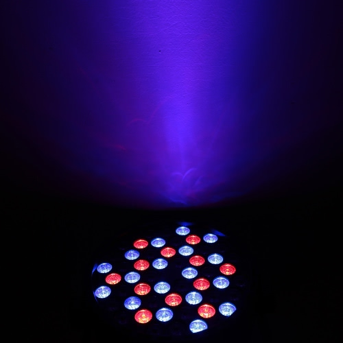 Lixada DMX-512 RGBW LED Stage PAR Light Strobe Professional 8 Channel Party Disco Show 54W AC 100 -240VHome &amp; Garden<br>Lixada DMX-512 RGBW LED Stage PAR Light Strobe Professional 8 Channel Party Disco Show 54W AC 100 -240V<br>