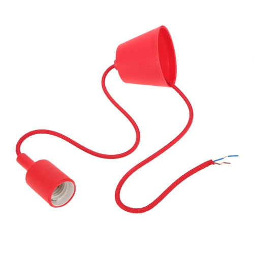 Colorful Candy Simple 1m Ceiling Lamp Light Pendant Bulb Home Room Decor E27 BaseHome &amp; Garden<br>Colorful Candy Simple 1m Ceiling Lamp Light Pendant Bulb Home Room Decor E27 Base<br>