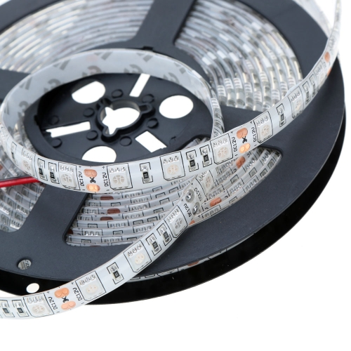 Lixada SMD 5050 Light IP65 60LEDs/m 5m/lot LED Fiexble Strip Light-Blue,Red,Green with 12V 5A Adapter for Bar Hotel RestaurantHome &amp; Garden<br>Lixada SMD 5050 Light IP65 60LEDs/m 5m/lot LED Fiexble Strip Light-Blue,Red,Green with 12V 5A Adapter for Bar Hotel Restaurant<br>