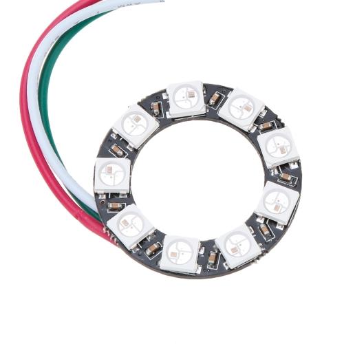 DIY RGB LED Ring Light 9*WS2811 5050 RGB LED 5V 1A with Integrated DriverHome &amp; Garden<br>DIY RGB LED Ring Light 9*WS2811 5050 RGB LED 5V 1A with Integrated Driver<br>