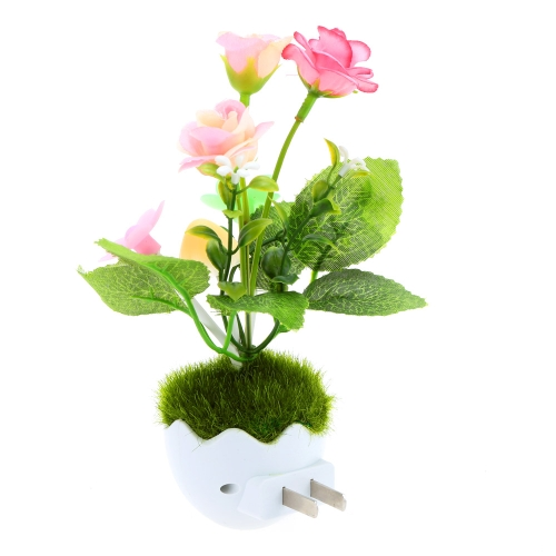 Lixada LED Color Change Light Sensor Energy Saving Mushroom Flower Plant Potted Bed Decor Night Lamp Home IlluminationHome &amp; Garden<br>Lixada LED Color Change Light Sensor Energy Saving Mushroom Flower Plant Potted Bed Decor Night Lamp Home Illumination<br>
