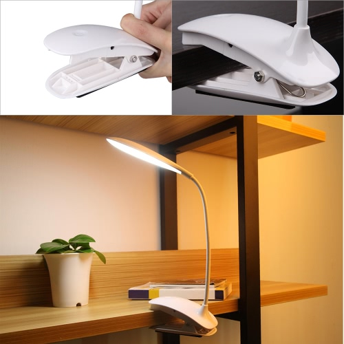 Soft Eyecare LED Clip Table Lamp Zero Radiation Flexible Tube Without BatteriesHome &amp; Garden<br>Soft Eyecare LED Clip Table Lamp Zero Radiation Flexible Tube Without Batteries<br>